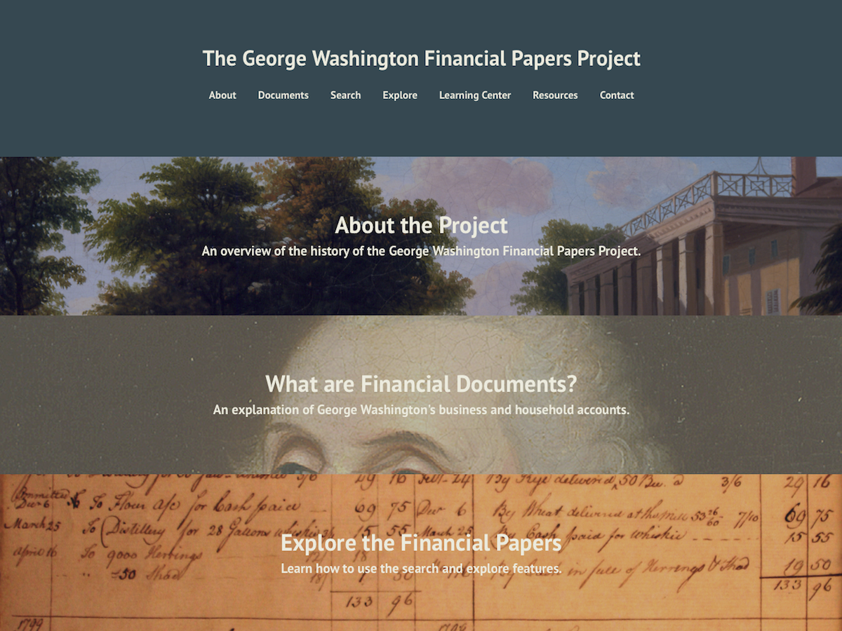 George Washington Financial Papers Project